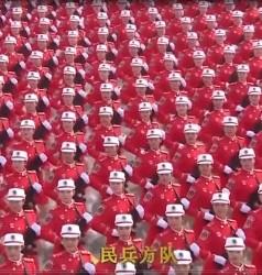 大阅兵---女民兵